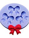 3 fluture bowknot tort silicon mucegai ciocolata decor mucegai bucătărie instrumente de copt