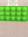 Silikon Rose Cake Ice Choklad Mould, 22.5x10.5x2cm (Random färg)