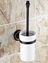 Suport Perie Toaletă / Bronz  Ulei Lemn /Tradițional