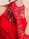 dantelă opera lungime mănuși mănuși de mână petrecere / seara mănuși stil elegant