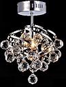 5W E27 Crystal Pendant Lamp pentru Sufragerie candelabre de cristal pentru camera de zi