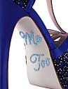 """""""Me Too"""" de cristal acrilice autocolant pantofi (Mai multe culori)"""