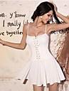 Femei Casual Sexy bandeau Slim curea Dress