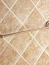タオルバー 高品質 アンティーク 真鍮 セラミック 1枚 - ホテルバス 1タオルバー