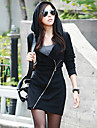 Xinying femei Hood Coat LZDZ-9003