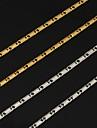 Pentru femei Lănțișoare femei Modă Placat cu platină Placat Auriu Aur alb Argintiu Auriu Coliere Bijuterii Pentru Nuntă Petrecere Zilnic Casual