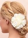 Femei / Fata cu Flori Bumbac / Material Textil Diadema-Nuntă / Ocazie specială Flori