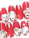 10 pcs Nail Smycken Abstrakt / Bröllop / Mode Dagligen Nail Art Design