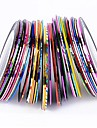 38 pcs Nail Jewelry / Foil Stripping Tape Fashion Lovely Daily Nail Art Design