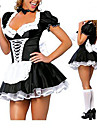 Tenus de Servante Costumes de carriere Costumes de Cosplay Costume de Soiree Feminin Halloween Carnaval Fete / Celebration Deguisement
