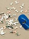 200 Bijoux à ongles Autres décorations Fleur Abstrait Classique Dessin Animé Adorable Mariage Punk Quotidien Fleur Abstrait Classique