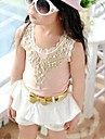 HAO MING  Girl's  Stretch Cotton Sleeveless Vest