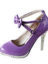 Pantofi pentru femei - Imitație de Piele - Toc Stiletto - Tocuri / Mary Jane / Vârf Rotund - Pantofi cu Toc - Rochie / Party & Seară -