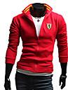 Bluze casual Duolunduo bărbați (Red)