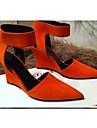 pantofi pentru femei ascuțit deget de la picior stilet toc pompe de pantofi mai multe culori disponibile