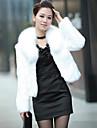coko&iarnă coreeană iepure imitație și blană de vulpe blana scurta DE femei
