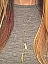 Dame Coliere cu Pandativ Aliaj costum de bijuterii La modă European Bijuterii Pentru Zilnic Casual