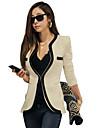 CHAOLIU femei Fashion Contrast culoare montate Outwear