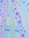 2x 30 buc fluorescent fluture efec și flori model stea norocoasă materiale origami (de culoare aleatorii)