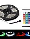 ZDM® 5m Ljusuppsättningar 300 lysdioder 1 24Välj fjärrkontrollen 1 DC-kablar RGB Vattentät Dekorativ 12V 1set