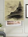 clasic schițat Turnul Eiffel umbră cu role