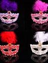 moda pene de culoare masca de carnaval dantelă