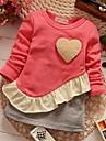 fete de moda joker iubesc guler rotund rochie cu maneci lungi