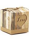 hârtie de hârtie cubice favoriza titularul cu cutii favorit-12 nunti favoruri