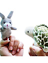 Jucarii Păpușă Deget Animale Desen animat Jucării Noi Băieți / Fete Textil / Pluș