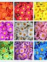 50buc 4cm 10colors de mătase artificială de floarea soarelui cu capul de margaretă Casa de nunta favoruri centrepieces de masă decoratiuni