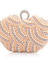 genți de mână imitație perle pietre de nunta / ambreiaje ocazie seara speciala, cu lanț (mai multe culori)
