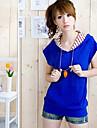 Pentru femei Tricou Șic Stradă-Bloc Culoare