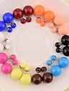 Dame Cercei Stud costum de bijuterii Perle Bijuterii Pentru Nuntă Petrecere Zilnic Casual Sport