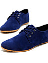 Homme Chaussures Faux Daim Printemps Ete Automne Confort Oxfords Lacet Pour Decontracte Bleu marine Noir Marron