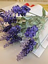 Gren Silke Plast Ljusblå Bordsblomma Konstgjorda blommor