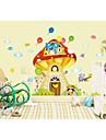 perete decalcomanii autocolante de perete, autocolante de perete stil de desen animat Tree House pvc