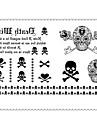 1 pcs midlertidige Tatoveringer Spesiell design / Til engangsbruk Krop / arm / Bein Vannoverfoeringskort Tatoveringsklistremerker / Tattoo-klistremerke