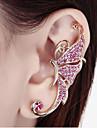Dame Cătușe pentru urechi costum de bijuterii Ștras Aliaj Animal Shape Fluture Bijuterii Pentru Nuntă Petrecere Zilnic Casual