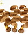 Indiskt hår Kroppsvågor Hårförlängning av äkta hår 3 delar 0.3