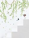 Oameni Botanic Desene Animate Perete Postituri Autocolante perete plane Autocolante de Perete Decorative, Vinil Pagina de decorare de