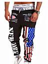 Bărbați Clasic & Fără Vârstă Larg Pantaloni Multicolor