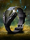 Bărbați Ceas de Mână Ceas Militar  Ceas digital Piloane de Menținut Carnea LED Silicon Bandă Negru Alb