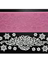 fyra c socker hantverk leveranser silikon spets pad dekoration matta för bakning, silikonmatta fondant tårta verktyg färgen rosa