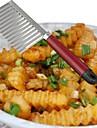 1 piese Cutter pe & Slicer For pentru legume Oțel Inoxidabil Bucătărie Gadget creativ / Calitate superioară