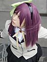 Peruci de Cosplay Tokyo Ghoul Cosplay Violet Mediu Anime Peruci de Cosplay 60 CM Fibră Rezistentă la Căldură Feminin