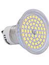 ywxlight® gu10 lumina reflectoarelor 60 smd 2835 540 lm alb cald alb rece 220-240 v
