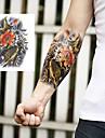 Tatueringsklistermärken - Non Toxic/Ländrygg/Waterproof - Djurserier - till Spädbarn/Barn/Dam/Herr/Vuxen/Tonåring - Grå/Multifärgad -