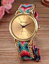 Pentru femei Ceas de Mână Coarda braided Material Bandă Boem / Modă Multicolor / Un an / SODA AG4