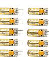1.5W G4 Becuri LED Corn T 24 led-uri SMD 3014 Alb Cald Alb Rece 120lm 2800-3000/6000-6500K AC 12V