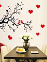 Djur Tecknat Botanisk Väggklistermärken Holiday väggdekaler Dekrativa Väggstickers, Vinyl Hem-dekoration vägg~~POS=TRUNC Vägg
